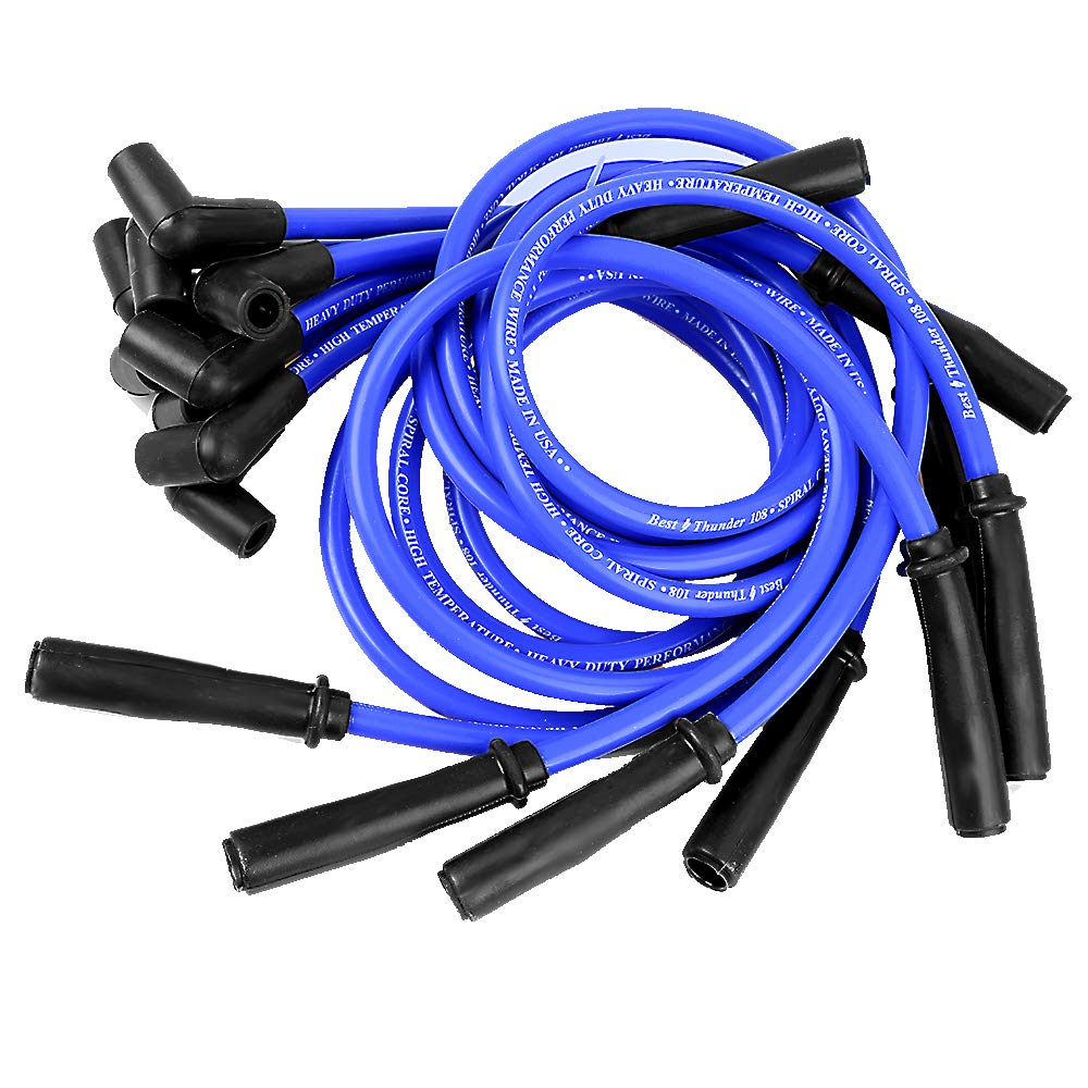 Amazon.com: 10.5 MM High Performance Spark Plug Wire Set for ... on