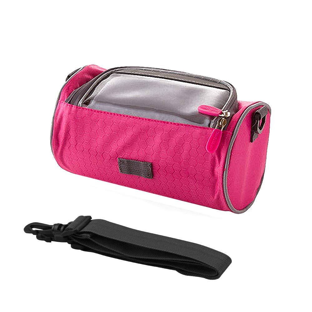huici borsa da manubrio bici con touch screen del telefono della finestra accessori personali Sling bag, resistente all' acqua, Blue resistente all' acqua