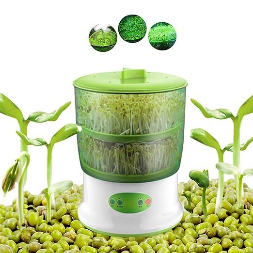 Grano automático de doble capa, máquina de germinación de frutas y ...