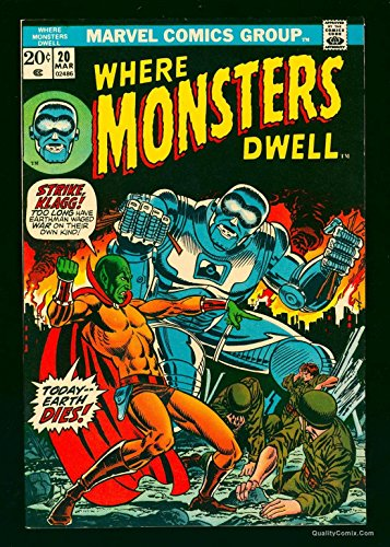 Where Monsters Dwell #20 VF+ 8.5