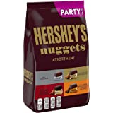 HERSHEY'S NUGGETS Assorted Chocolate Candy, Bulk, 33.9 oz Party Bag