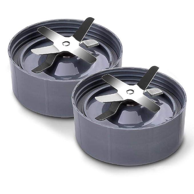 Cuchilla extractora para batidora NutriBullet - Accesorio de repuesto compatible para modelos de batidora de 600 W y 900 W: Amazon.es: Hogar