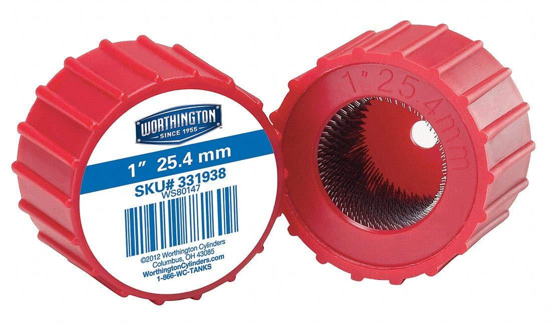 "WORTHINGTON Fitting Brush,Wire,1/"" Dia. 331938"