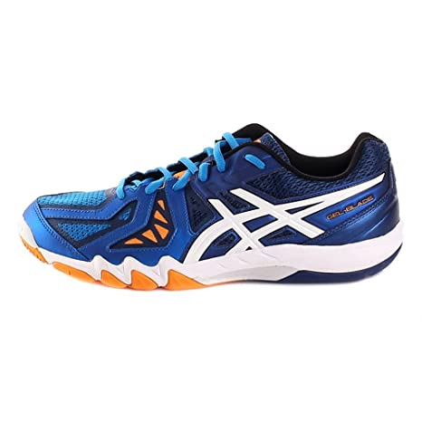 women promo code On Clearance Asics Gel Blade 5 R506Y-3901 Mens Blue Shoes Size: 5 UK ...