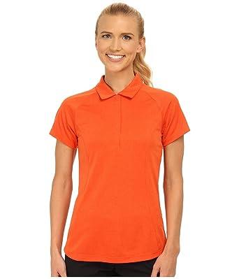 df58f4cd Amazon.com: Nike Golf Women's Luxe Raglan Polo 2.0, Bright Mandarin/Team  Heather/Electro Orange, LG: Clothing