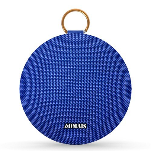 AOMAIS Ball Bluetooth Speakers, Wireless Portable Bluetooth Speaker IPX7 Waterproof, 15W Superior Surround Sound with DSP, Stereo Pairing for Outdoor,Travel,Shower,Beach,Party (Blue)