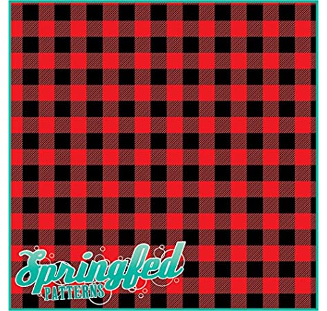 Amazon Com Red Buffalo Plaid Pattern Craft Vinyl 3 Sheets 12x12 For Vinyl Cutters Everything Else