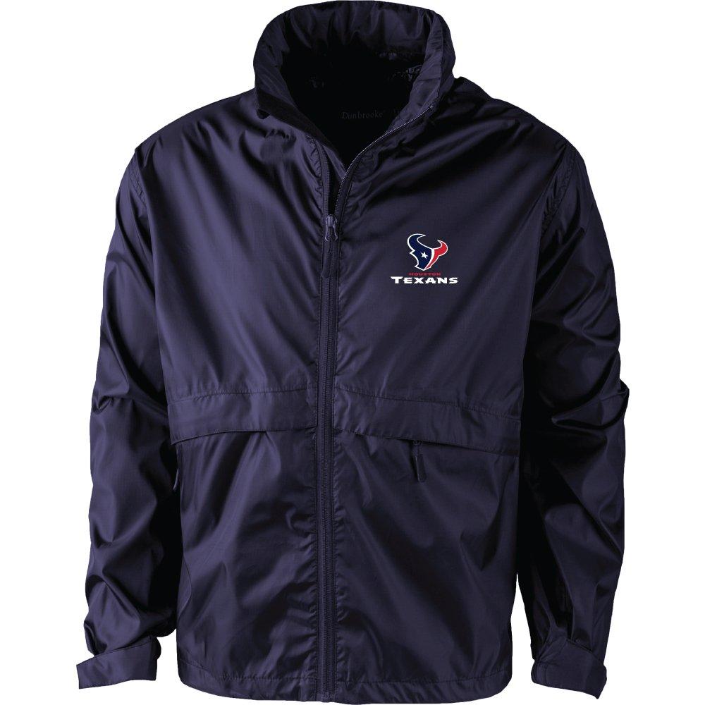Navy X-Large NFL Houston Texans Mens Sportsman Waterproof Windbreaker Jacket
