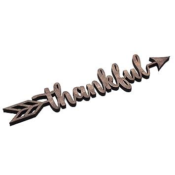 Amazon.com: KU-DaYi - Cartel de madera con flecha de ...