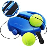 Chriffer Solo Tennis Traine Rebound Ball for Self Tennis Practice Training Tool with 2 String Balls & Elastic Ropes for…