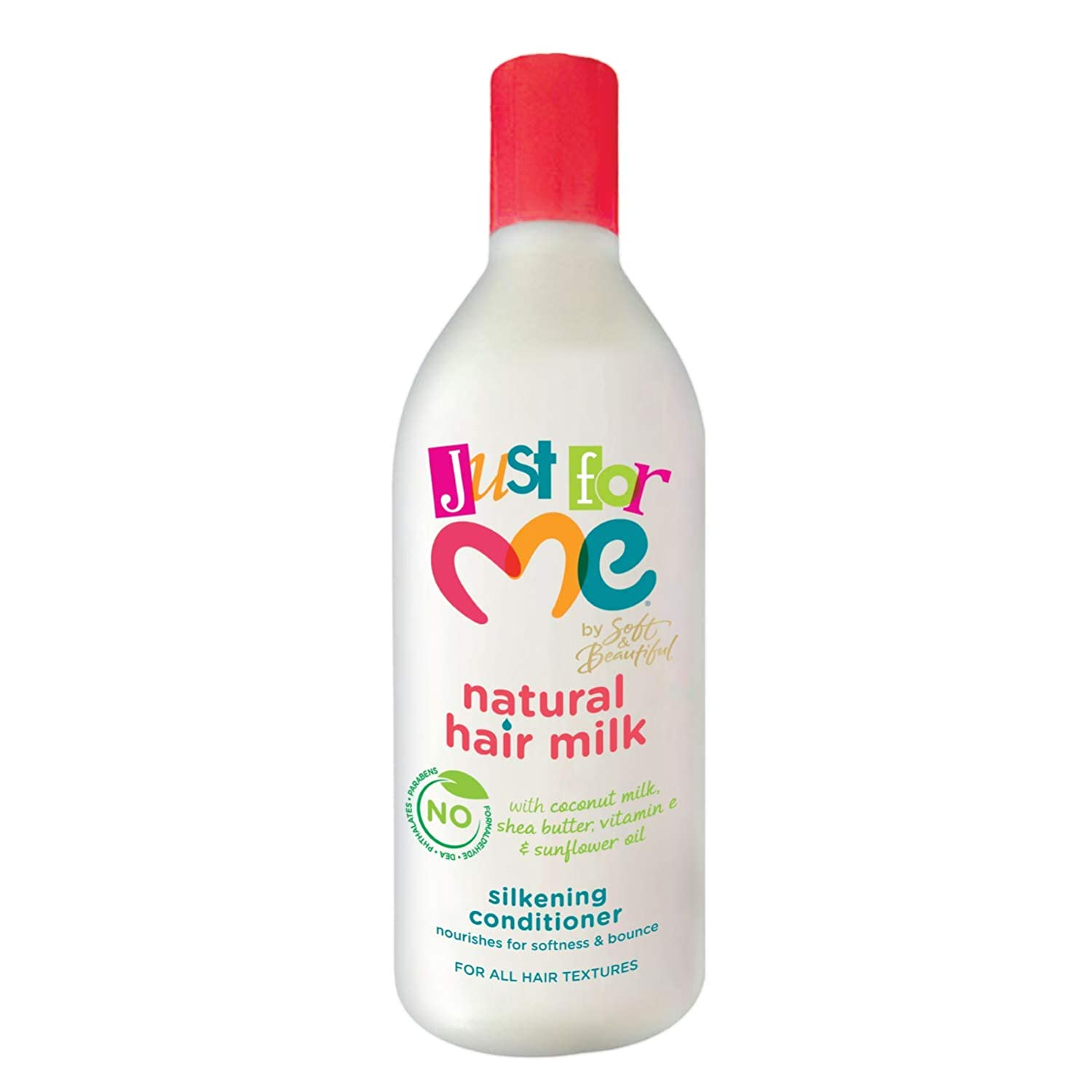 Just For Me Natural Hair Milk Silkening Conditioner, 13.5 Fluid Ounce
