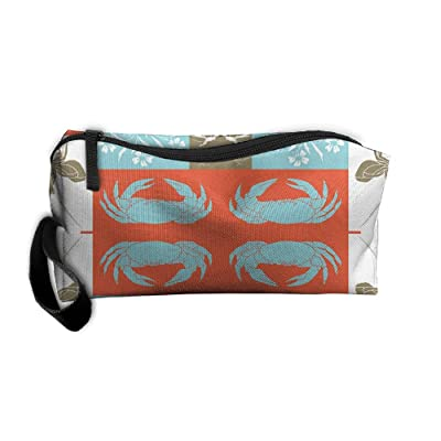 7388c99559 durable modeling Geometric Multicolored Cosmetic Bag