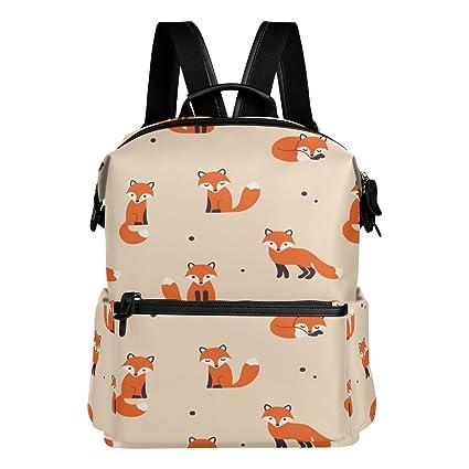 ALAZA zorro rojo Casual mochila mochila estudiante escuela Bolsa de viaje ligero