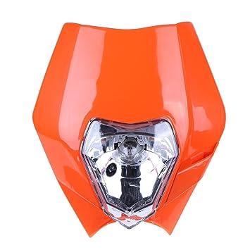 NELNISSA Faro delantero universal para motocicleta Nenisa KTM