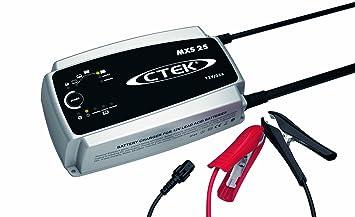 CTEK 56-732 Cargador de Baterías, Negro, Plata