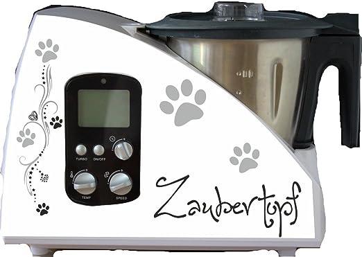 Robot de cocina etiqueta mágica olla Huellas para Monsieur Cuisine: Amazon.es