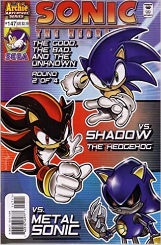 Sonic The Hedgehog 147 Comic Book The Good The Bad The Unknown Part Two Ignition Ken Penders Amazon Com Books