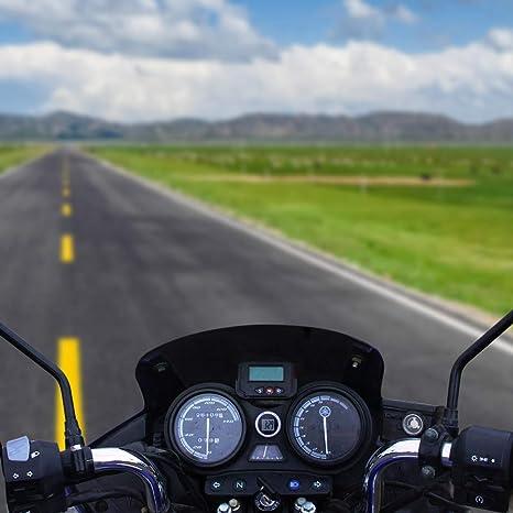Orologio Con Display Digitale Orologio Da Moto Mini Orologio Impermeabile Stick On Verdelife Orologio Da Moto