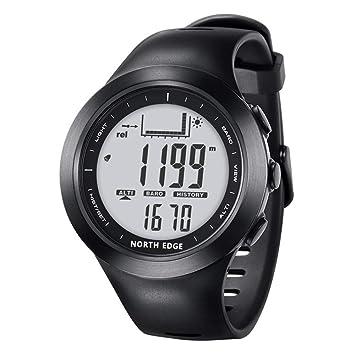 Reloj Deportivo Inteligente, Reloj De Pesca, Barómetro 100 Metros Impermeable Brújula Digital Altímetro Barómetro
