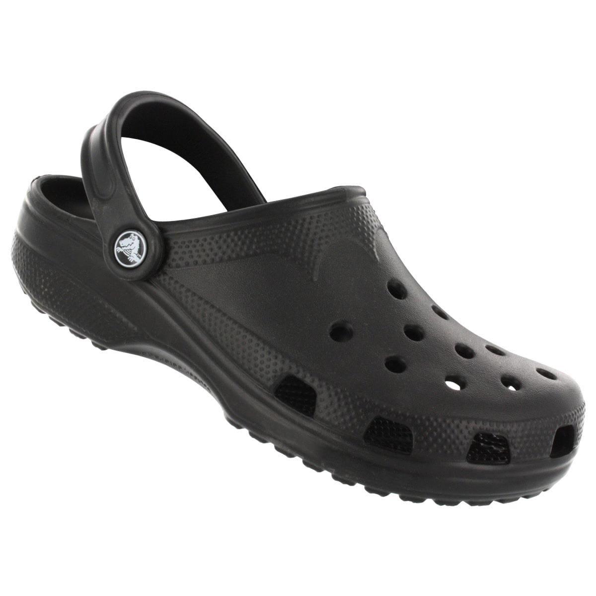 Crocs Men's Classic Comfort Clog Black 12 M US