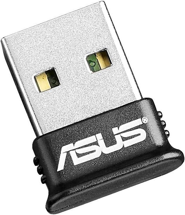 ASUS USB-BT400 Adaptador y Tarjeta de Red - Accesorio de Red (Inalámbrico, USB, Bluetooth, 3 Mbit/s, 2.4-2.4835 GHz, 10m) Negro