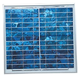 Ventamatic VX SOLAR PANEL 12.6-Watt 18-Volt Multi-Crystal Solar Panel Attic Ventilator