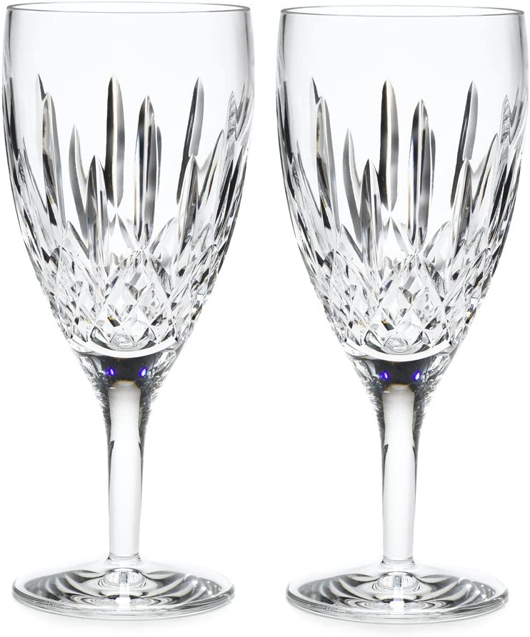 Waterford Lismore Nouveau Iced Beverage Pair, 14-Ounce