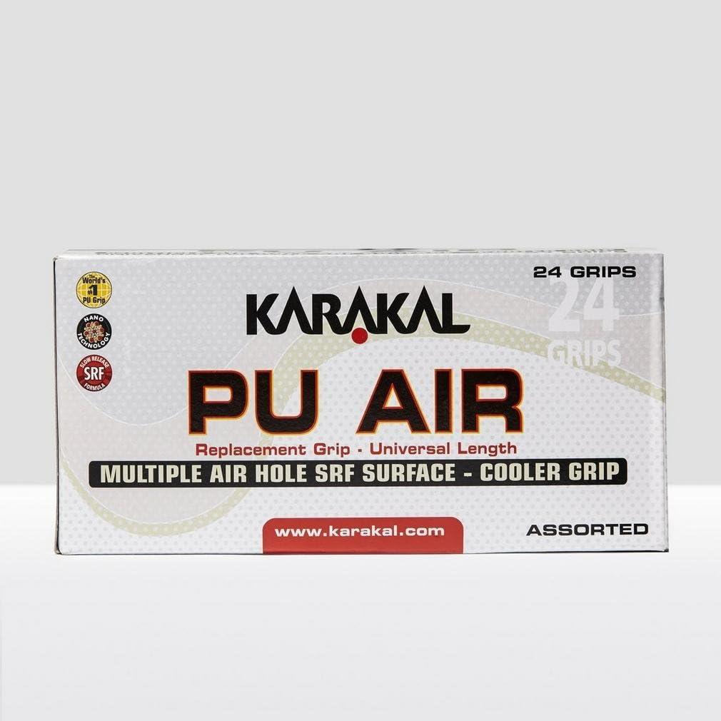 Karakal Couleur PU Super Air Grip Boîte de 24