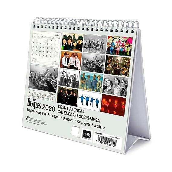ERIK - Calendario de Escritorio Deluxe 2020 The Beatles ...