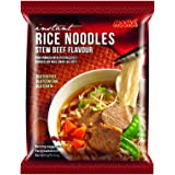 Mama Beef Instant Rice Noodles, 55 g, Pack of 24