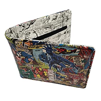 Amazon.com: Marvel Comics - Cartera plegable con diseño ...
