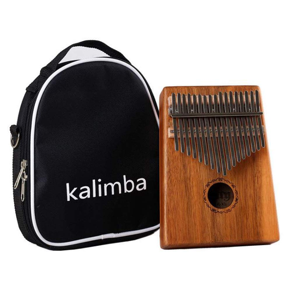 LVSSYKalimba 17 Keys Thumb Piano with Learning Guide and Tuning Hammer,for Beginner Children and Adults,C by LVSSY