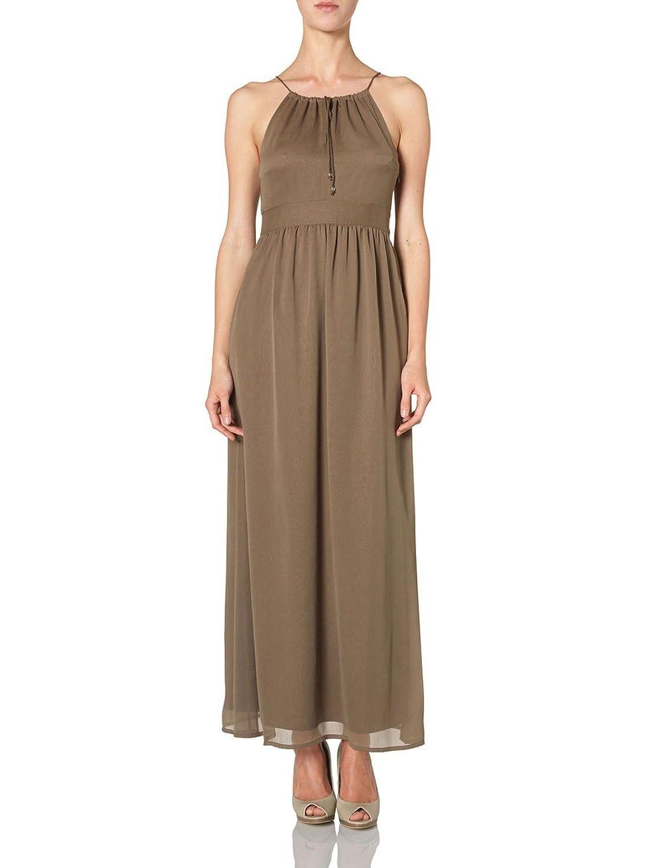 Vero Moda - Vero Moda Tira Ancle long dress - Marron