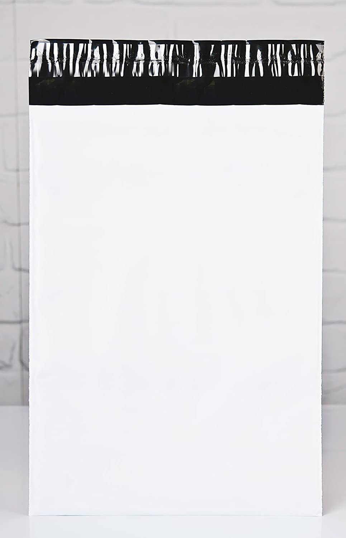 DIN B4 25 PREMIUM VERSANDBEUTEL VERSANDTASCHEN VERSANDT/ÜTEN selbstklebend Gr/ö/ße: 260 x 350 mm extrem Rei/ßfest und blickdicht Farbe: Wei/ß St/ärke: 65 my