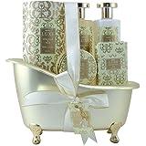 Gloss! Coffret Baignoire de Bain Luxe White Floral et Musk 5 Pièces