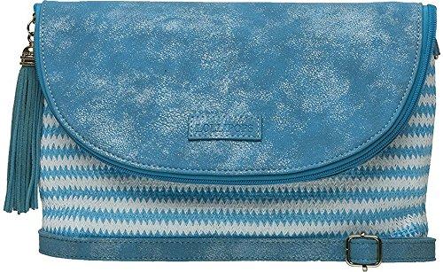 Graphique TUXON, motivo: lecca lecca, Borsa a tracolla, colore: blu