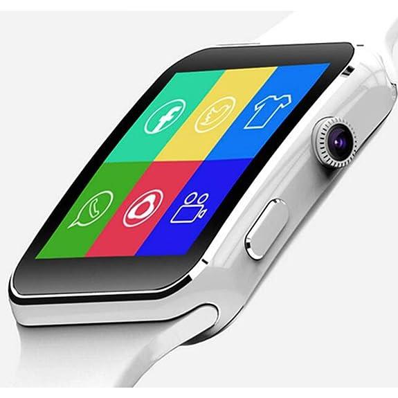 SZDLDT Excellent Bluetooth montre connecter android SIM reloj inteligente smart watch Gorgeous Bluetooth smartwatch (White