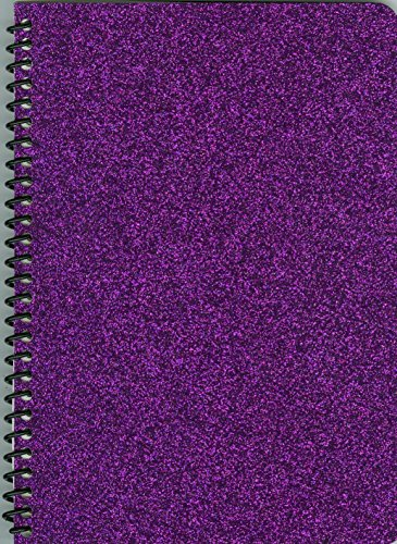 Small Sticker Collecting Album, Deep Purple Sparkle Glitter,