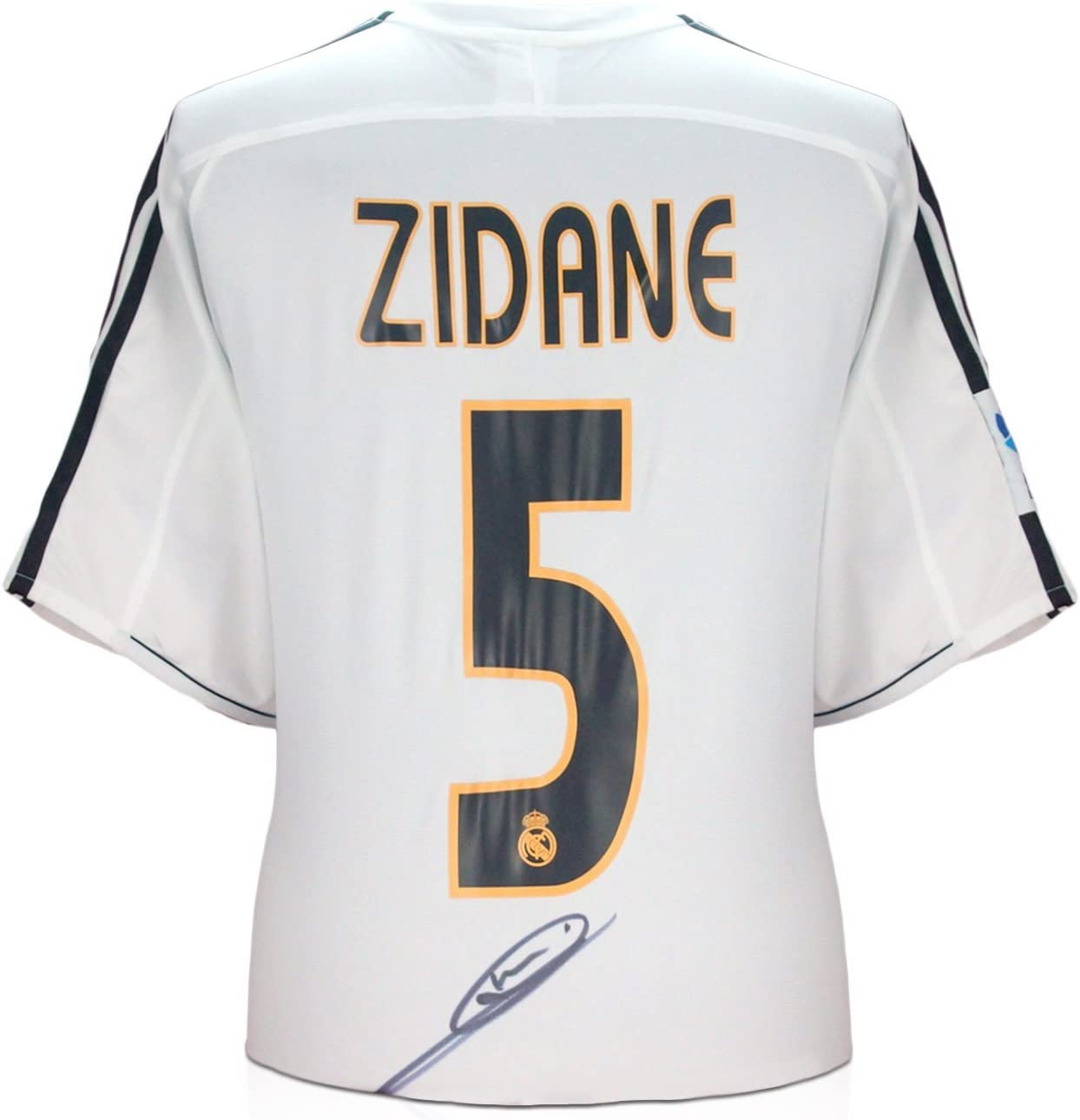 Zinedine Zidane Real Madrid 2003-04 camiseta de fútbol firmada ...