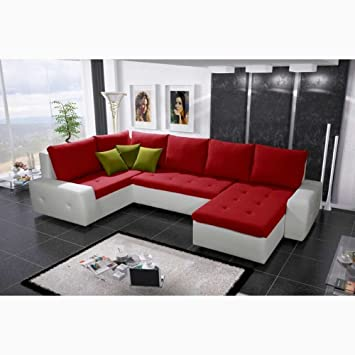 Fabulous Justhome Senso Bis Corner Sofa Sofabed Corner Group White Caraccident5 Cool Chair Designs And Ideas Caraccident5Info