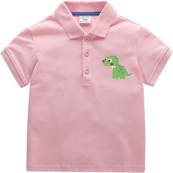 Camiseta De Algodón Para Niños Camiseta De Polo Cómoda Con Logo De ...
