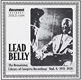 Leadbelly: The Remaining Library of Congress Recordings, Vol. 4: 1935-1938