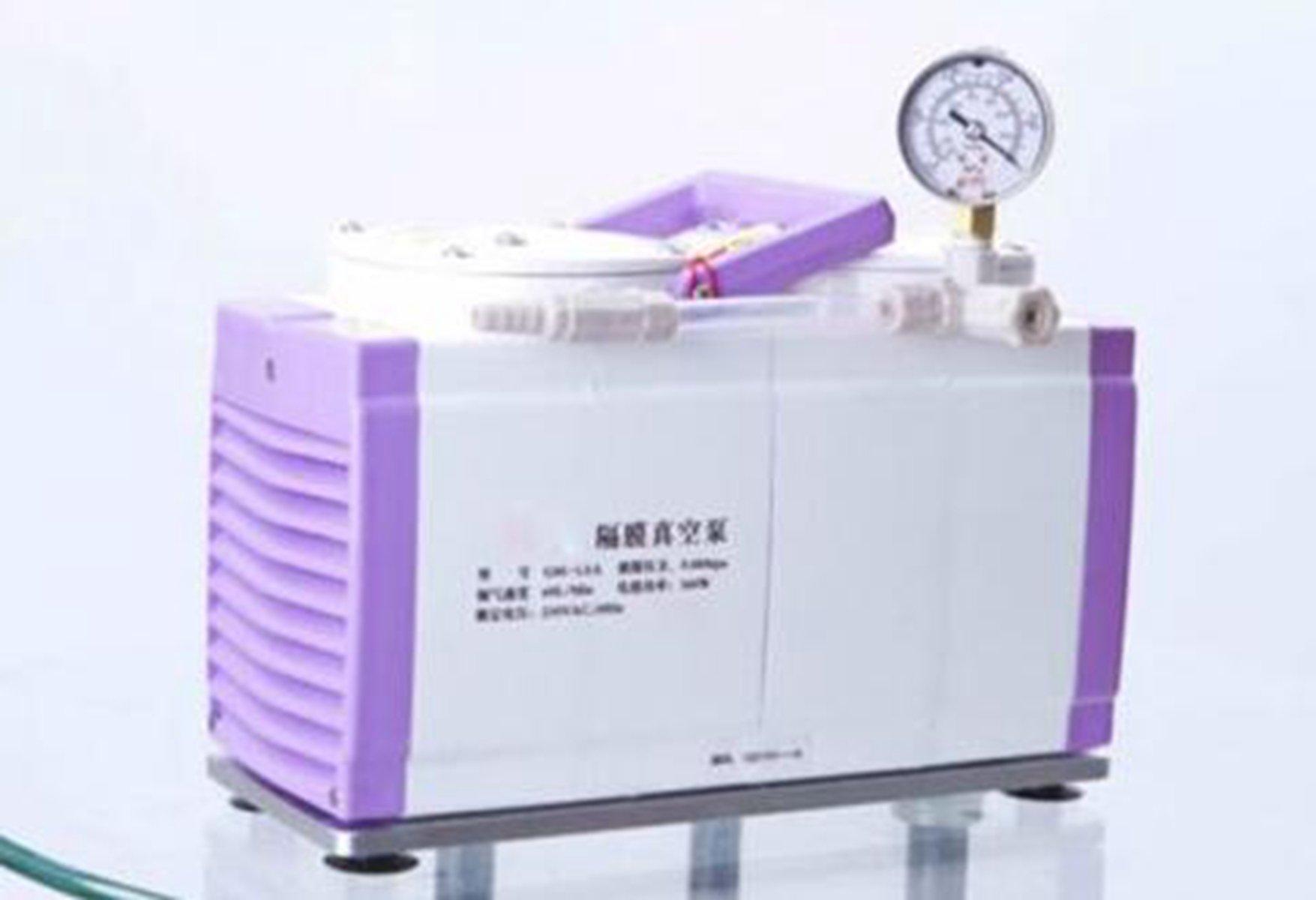 Welljoin Diaphragm Vacuum Pump Oil Free Dual Head 60 L/min GM-1.0A