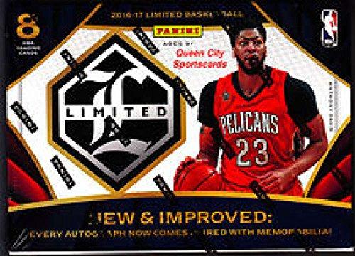 2016-17-panini-limited-basketball-hobby-box-1-pack-of-8-cards-2-memorabilia-or-autographed-memorabil