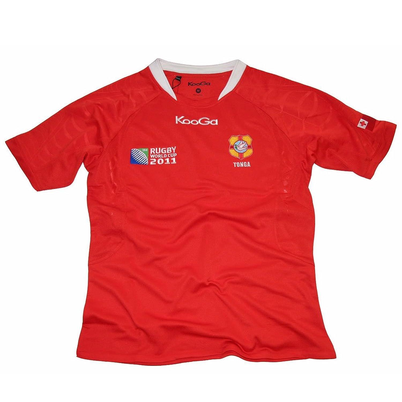 Design shirt kooga - Amazon Com Tonga Home Shirt Wc 2011 Sports Fan Jerseys Sports Outdoors
