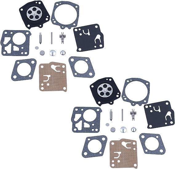 Haishine 2 x RK-23HS Kit de reparación de carburador Fit JONSERED 625 630 670 920 930 2094 Motosierra: Amazon.es: Jardín