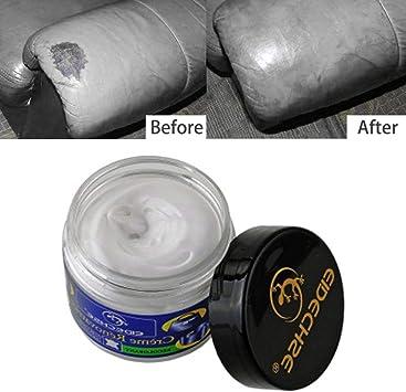 Godya - Kit de reparación de Grietas y arañazos para Asiento de Coche, para reparación de Piel, para el hogar, sofá, Bolso o Ropa