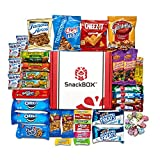 Easter Candies Chips and Cookies Care Package Assortment Variety Pack Bundle Bulk Sampler (45 Count) SnackBOX