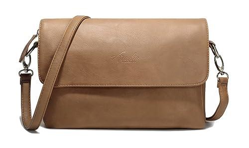 0cc88ddbd8 AMELIE GALANTI Borsa a tracolla per donne, borse e borse in pelle PU con  tracolla