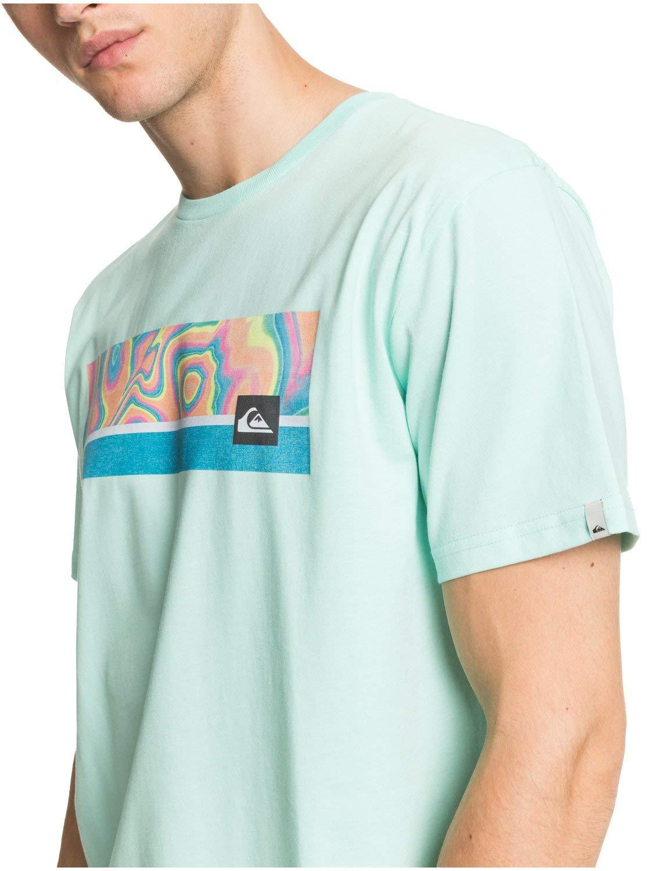 Quiksilver Jam It-Camiseta para Hombre Screen tee